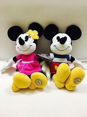 Disney Store Mickey & Minnie Mouse