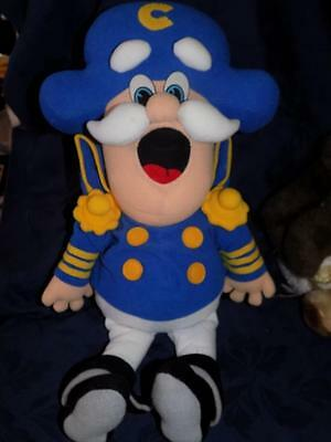 "Vintage 1992 CAP'N CRUNCH DOLL-Quaker Oats cereal 18"" PLUSH"