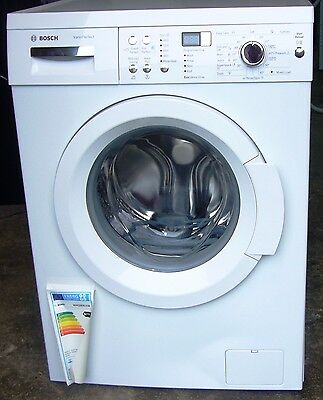 "Bosch ""WAQ283S1GB"" 8kg, 1400 Spin White Washing Machine  NEW  RRP £429"