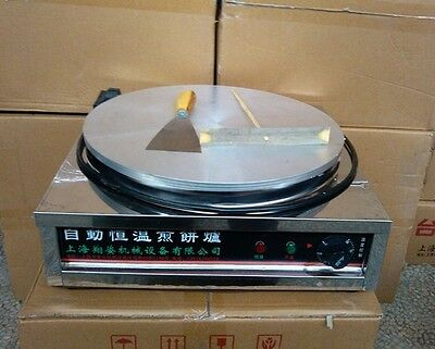 Brand New Commercial Kitchen Countertop Crepe Maker Griddle Free Posted by DHL