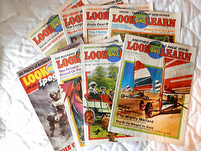 LOOK and LEARN  8 ISSUES ( (1979)