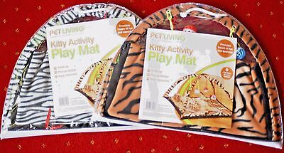 Cat/Kitten Fold Up Activity Play Mat Pop up design easy assembly and storage