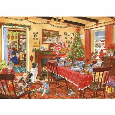 House Of Puzzles Unexpected Guest - Christmas 500 Piece Jigsaw Puzzle