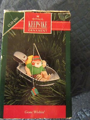 Vintage Hallmark Keepsake Ornament Gone Wishing 1992 Clipon