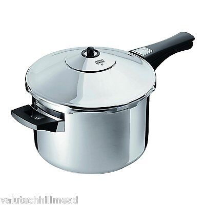 Kuhn Rikon Duromatic Stainless Steel Inox 7L Pressure Cooker