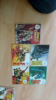 WAR picture libary graphic novel comics 5 issues