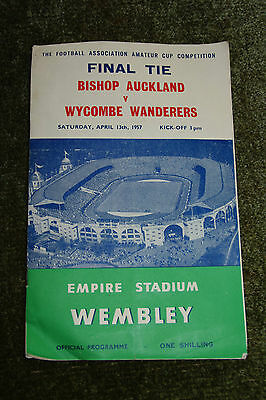 FA Amateur Cup Final 1957 - Bishop Auckland Vs Wycombe Wanderers