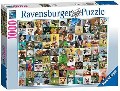 Ravensburger 19642 Colourful 99 Funny Animals 1000 Pieces Jigsaw Puzzle Game