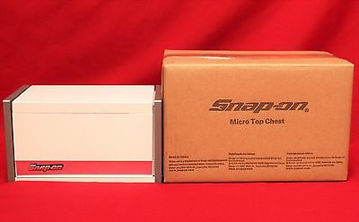 Snap On White Mini Micro Top Chest Tool Box  Brand New !!!!!