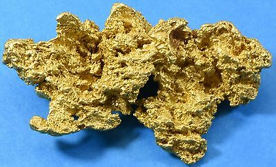 Large Natural Gold Nugget Australian  198 .79 Grams, 6.392 Troy Ounces Genuine