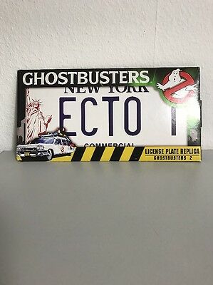 GHOST BUSTER License Plate ECTO 1A