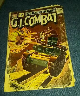 G.I. Gi Combat 91 1.5 f/Gd 1st Haunted Tank cover appearance lot run collection