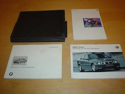BMW 3 SERIES E36 SALOON COUPE CONVERTIBLE TOURING ESTATE Owners Handbook Manual