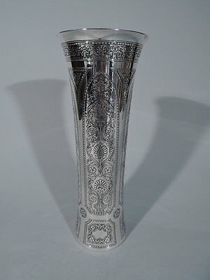 Tiffany Vase - 18173A - Antique Edwardian - American Sterling Silver