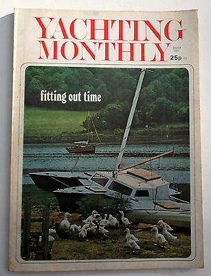 Yachting Monthly magazine March 1971, Charles Stock article