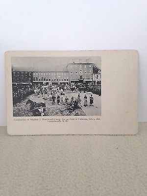 Pc Somersworth Nh 1896 S.j.wentworth Camp Sons Of Veterans Civil War Pmc