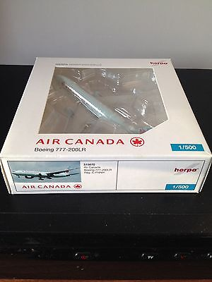 Herpa Wings Air Canada 777-200 - 1/500 - Rare Model