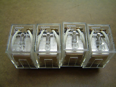 Lot of 4 - Omron LY-2 24V DC Relay