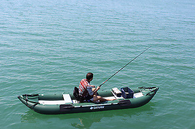 Inflatables Sailing Boating Kayak Canoe Dinghy Boat Unique Fishing Rod