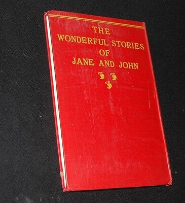 RARE 1st Edition 1899 THE WONDERFUL Stories of Jane And John Hardcover Book  #