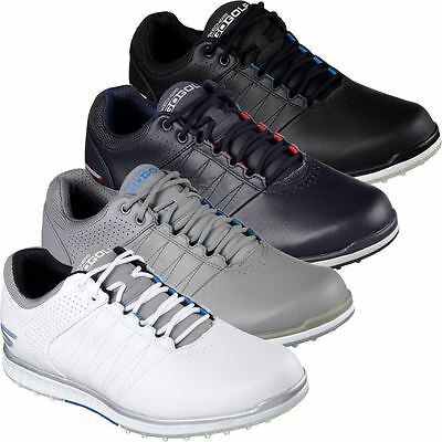 2017 Skechers Go Golf Elite 2 Tour Performance Leather Men Golf Shoes Waterproof