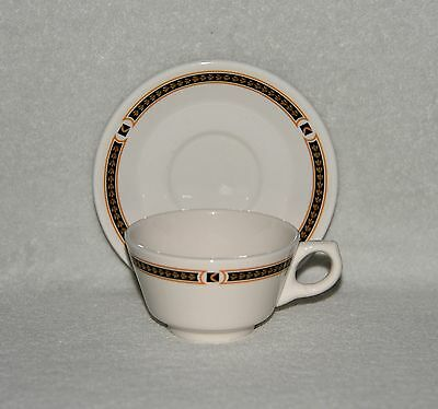 Canadian Pacific Railway CP-7 Chateau Champlain Cup & Saucer