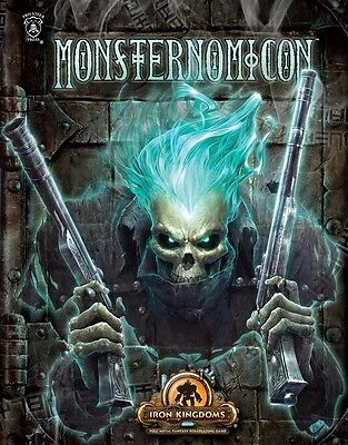 Iron Kingdoms Full Metal Fantasy RPG: Monsternomicon (softcover) PIP 410