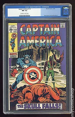 Captain America (1968 1st Series) #119 CGC 9.2 0062034009