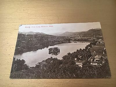 Kandy, Lady Hortons Walk- Ceylon- 1909- River View