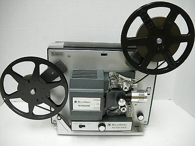 BELL AND HOWELL AUTOLOAD SUPER 8MM MOVIE PROJECTOR MODEL 357B with Lamp Upgrade!