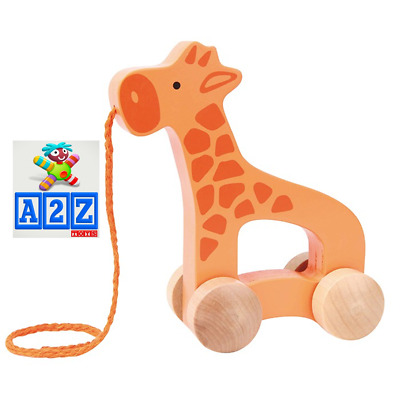 Hape Push and Pull Giraffe