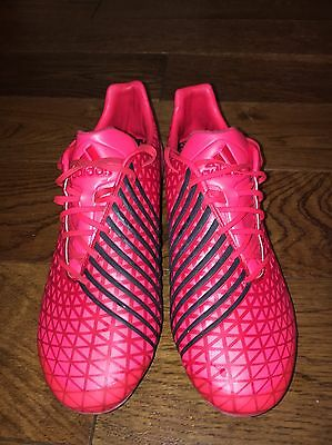Adidas Rugby Boots Predator Malice SG Rugby Boots Shock Power Red Size 10