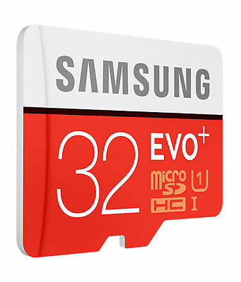 Samsung 32GB Micro SD Card SDHC EVO+ 80MB/s UHS-I Class 10 TF Memory Card NEW