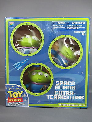 """Toy Story Collection """"SPACE ALIENS"""" Extra Terrestres Figurines Thinkway *NEW*"""