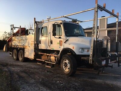 Freightliner T/A Crew Cab Truck Only - no crane