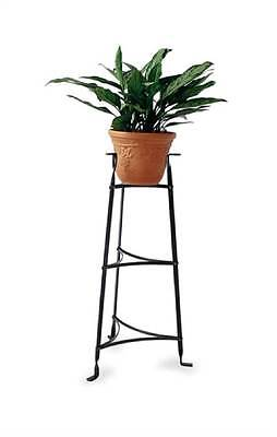 3-Tier Plant Stand with 2 Shelves in Hammered Steel [ID 8342]