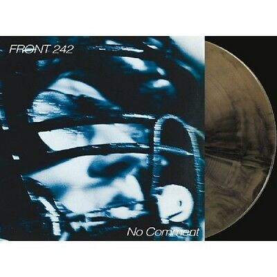 FRONT 242 No Comment / Politics Of Pressure - 2LP / Gold + Black + CD