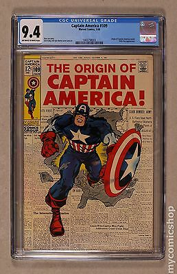 Captain America (1968 1st Series) #109 CGC 9.4 1465738003