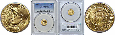 1915-S Panama-Pacific $1 Gold Commemorative PCGS MS-65