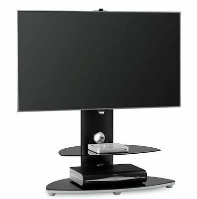 """Alphason OSMB800-2S Osmium TV Cabinet Stand For TV's Up To 47"""" In Black NEW"""