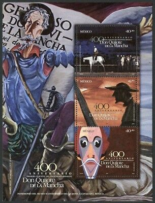 Mexico Scott #2443 MNH 400th Ann Don Quixote Publication 2005 $$