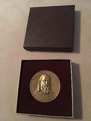Albert Pike 1991 Coin Mount Rushmore History Channel Gutzon Borblum MedallicArt