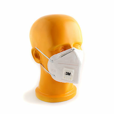 15pcs 3M 9001V Half Face Haze Protective Mask Anti-Dust PM2.5/KN90 + Buckle