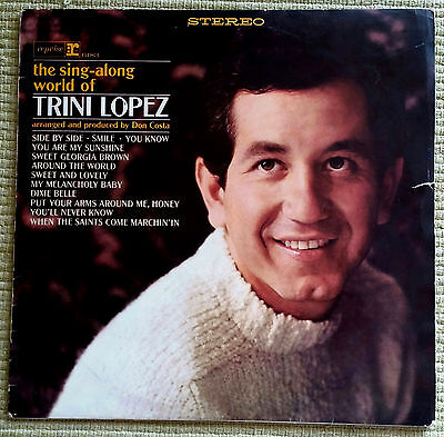 Trini Lopez _ The Sing-Along World Of Trini Lopez