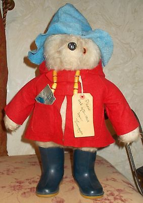 Lovely Gabrielle Designs 1972 Paddington Bear All Original With Tags,1972