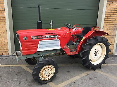 YANMAR 22HP 4X4 COMPACT TRACTOR, ideal for grass flail mower or tipping trailer