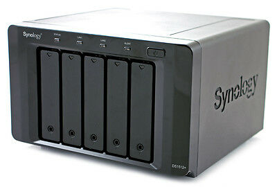 Synology DiskStation DS1512+  5 Bay NAS Network Attached Storage
