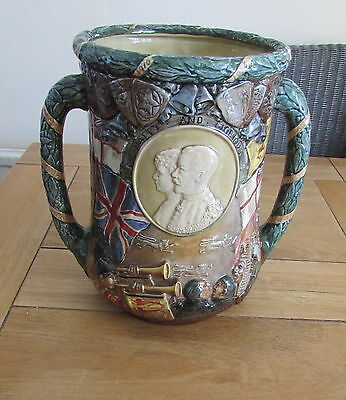 Royal Doulton King George V Queen Mary Jubilee Loving Cup 1935
