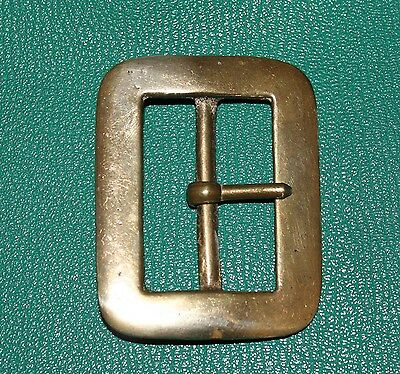 Solid brass vintage re enactment buckle 55mm