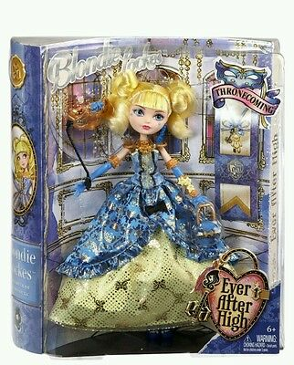 Ever After High Daughter of Goldilocks - Thronecoming Blondie Lockes Doll BNIB